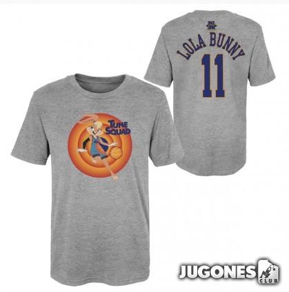 Lola Bunny Space Jam Tune Squad Short Sleeve T-Shirt