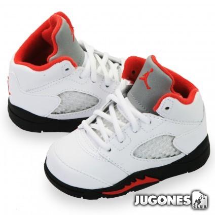 Air Jordan 5 Fire Red TD