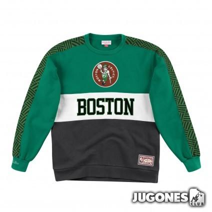Leading Scorer Fleece Crew Boston Celtics