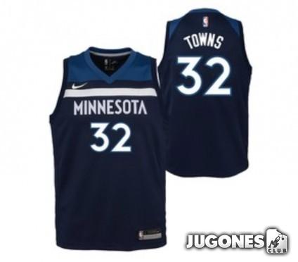 Camiseta Minnesota Towns Jr