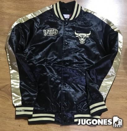 Satin Jacket Chicago Bulls