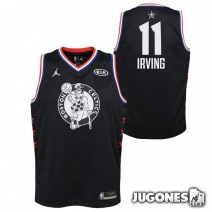Camiseta All Star Kyrie Irving Negro Jr
