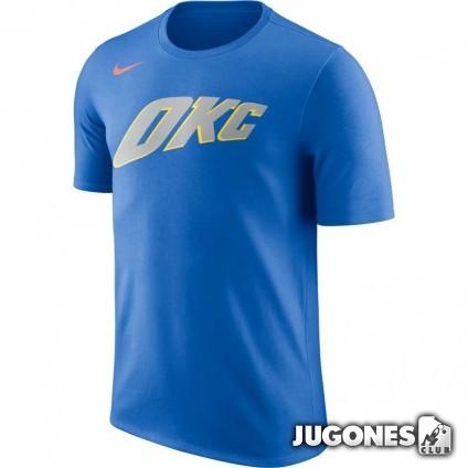 Oklahoma City Thunder City Edition Nike Dry