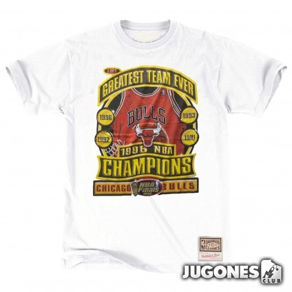 Chicago Bulls 1996 NBA Champions Mitchell & Ness T-Shirt