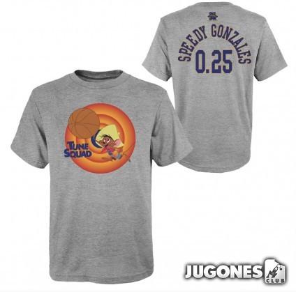 Speedy Gonzales Space Jam Tune Squad Short Sleeve T-Shirt