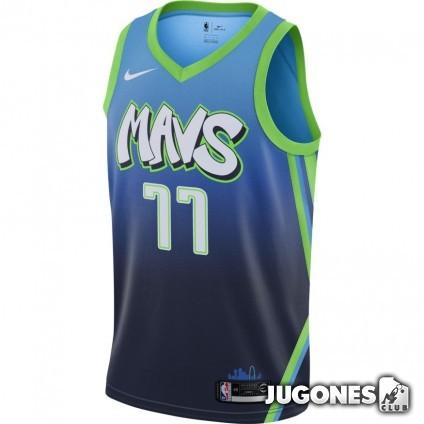 NBA Dallas Mavericks Luka Doncic City Edition