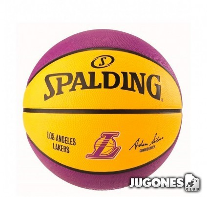 Balon Spalding NBA Lakers talla 5