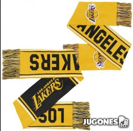 Angeles Lakers Jr Carryover Scarf