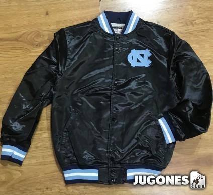 Mitchell & Ness North Carolina Lightweight Satin Jacket