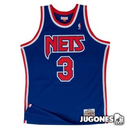Brooklyn Nets Drazen Petrovic Jr 1992-1993