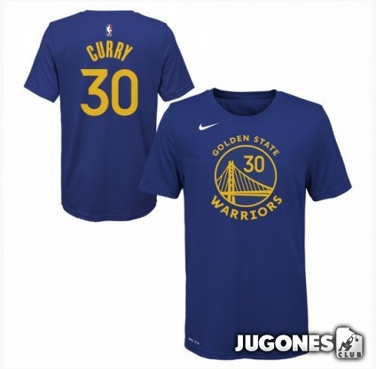 Stephen Curry Golden State Warriors Jr