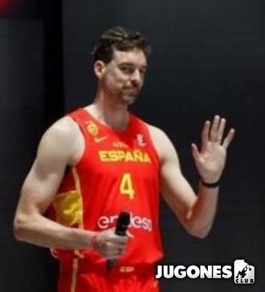 Camiseta Nike España (Road) Limited Pau Gasol