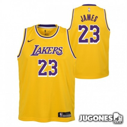 Camiseta NBA Lakers Lebron James infant
