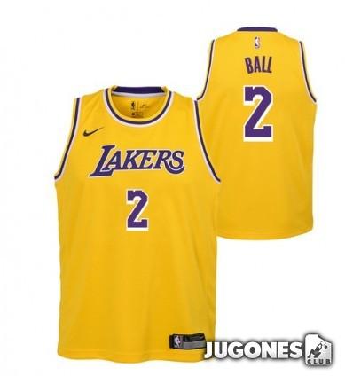 Camiseta Lakers `Lonzo Ball`
