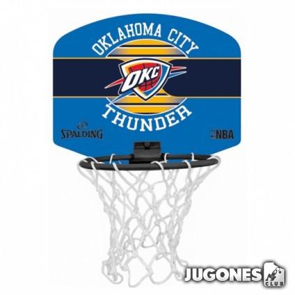 Mini Canasta Spalding Oklahoma City Thunder