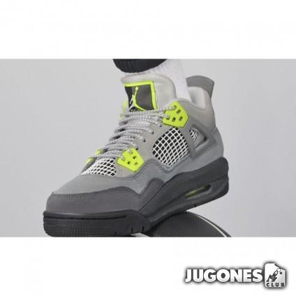 Jordan 4 Retro (GS) Grey Volt