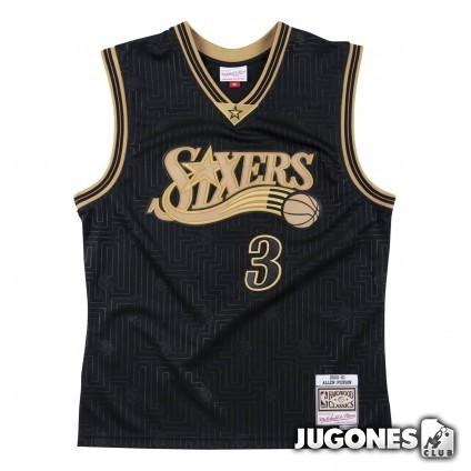 CNY Swingman Jersey Philadelphia 76ers 2001-02 Allen Iverson