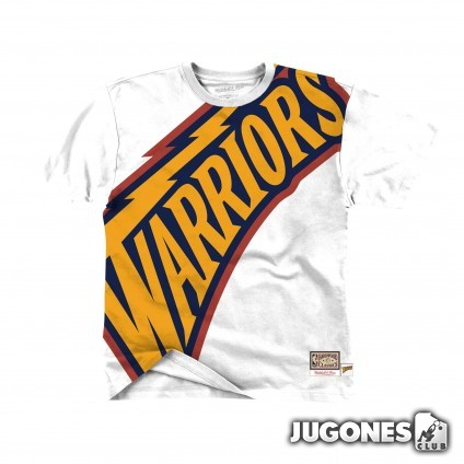 Big Face Tee Golden State Warriors
