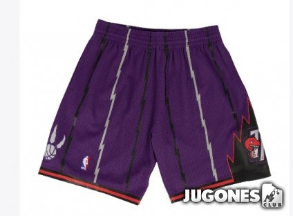 Swingman Toronto Raptors short Road98-99