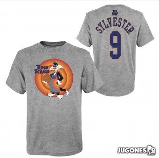Sylvester Space Jam Tune Squad Short Sleeve T-Shirt
