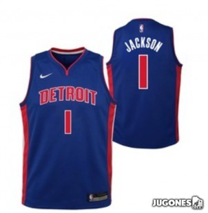Camiseta Detroit Jackson Jr
