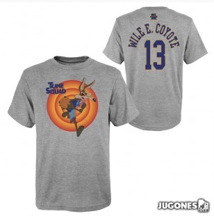 Wile e Coyote Space Jam Tune Squad Short Sleeve T-Shirt