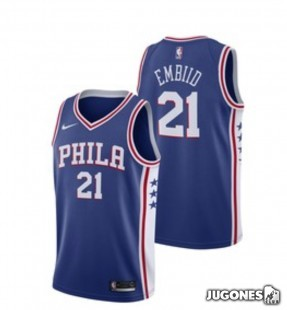 Camiseta 76ers Embiid Jr