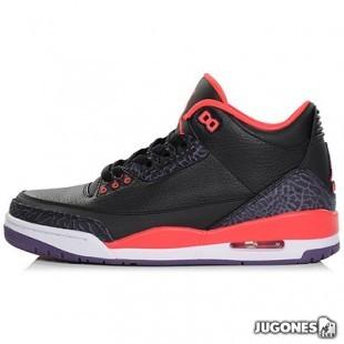 Air Jordan 3 Black Crimson