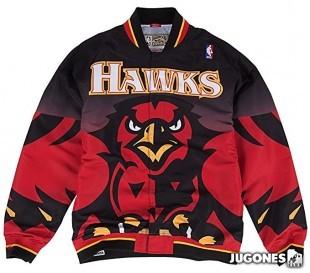 Chaqueta 1995-96 Authentic Warm Up Atlanta Hawks