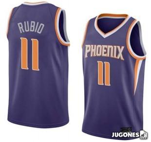 Big Kids` NBA Phoenix Suns Ricky Rubio Jersey