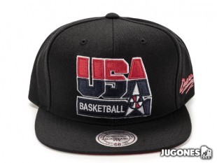 Usa Basketball Snapback 1992 II (Black)