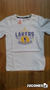 Camiseta Prcept NBA Lakers