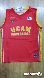 Camiseta Oficial Ucam Murcia