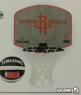 Mini canasta Spalding H. Rockets