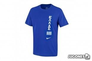 Nike Greece Team Jr Tee