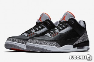 Jordan 3 Retro OG `Black Cement`