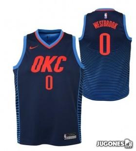 NBA Oklahoma City Thunder T-Shirt `Rusell Westbrook`