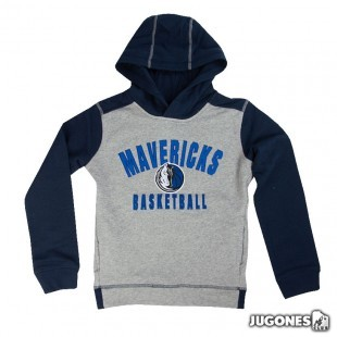 Retro Block NBA Jr Dallas Mavericks Hoodie