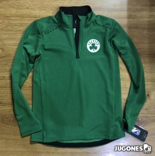 Unlock 1/4 Zip performance Top Boston Celtics
