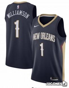 Big Kids` NBA Zion Williamson Jersey