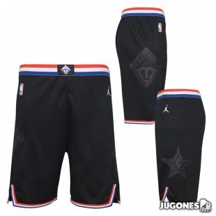 NBA All Star Black Jr Pants