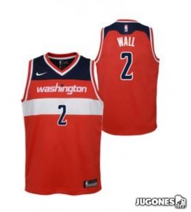 Camiseta Washington Wall Jr