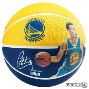 Balon Spalding NBA player Stephen Curry Talla 5