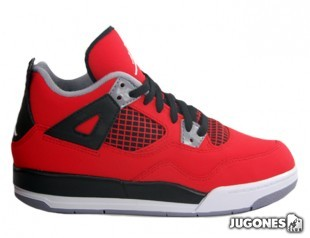 Nike Air Jordan 4 Retro Toro Bravo (PS)