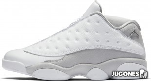 Jordan 13 Retro Low Pure Platinum