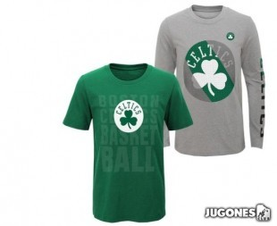 Camiseta 3 en 1 Boston Celtics