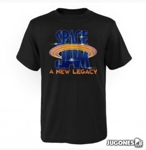 Space Jam Galactic Logo Tee