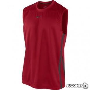 Camiseta s/m team hustle dri-fit