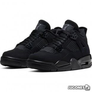 Jordan 4 Retro GS Black cat