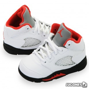 Air Jordan 5 Fire Red TD